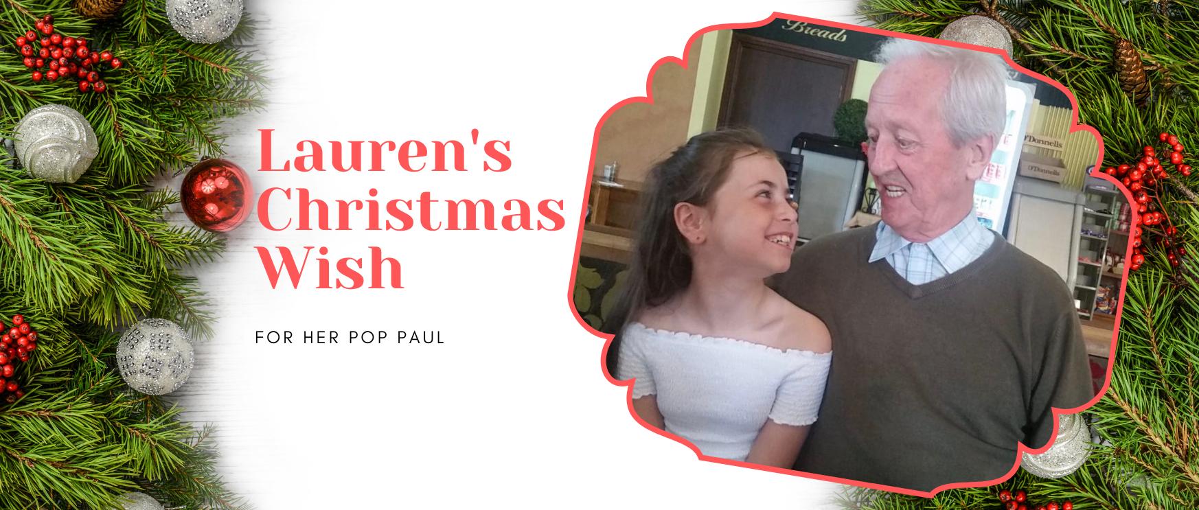 Lauren's Christmas Wish